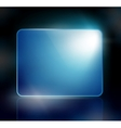 background with a blue sign vector image