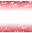 Abstract Red Line Background vector image vector image