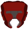 Boxing helmet vector image vector image