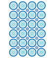 Circle wallpaper vector image vector image
