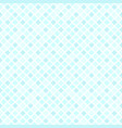 cyan diamond pattern seamless vector image vector image