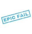 Epic Fail Rubber Stamp vector image vector image