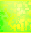 green and yellow shades rounded tiles background vector image vector image