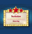 Invitation card template banners