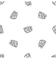 wtf comic book bubble text pattern seamless black vector image vector image