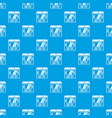computer pattern seamless blue vector image vector image