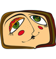 Face Abstract vector image