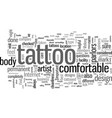how to find a good tattoo artist vector image vector image