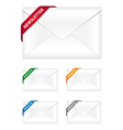 newsletter icons vector image