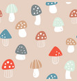 seamless pattern with hand drawn colourful vector image