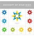 Star logo design template vector image vector image