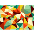 Trendy vintage geometric seamless pattern vector image vector image