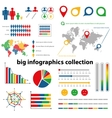 infographics collection vector image