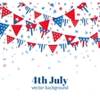 4th july american independence day celebration vector image vector image