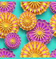 Background seamless pattern with colorful 3d