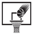 Basketball2 resize vector image