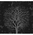 Dark tree vector image
