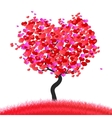 love the tree vector image vector image