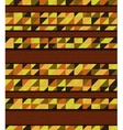 mosaic and wood vector image vector image
