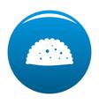 pattie icon blue vector image vector image