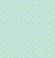 Teal Seamless Geometric Pattern vector image