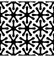 seamless pattern in black and white vector image