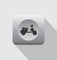 scooter motorcycle icon vector image
