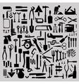 building tools vector image vector image