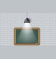 Creative background blackboard and spot light