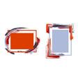 framesr35 vector image vector image