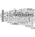 how to find and buy foreclosures vector image vector image