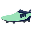 Isolated soccer cleat icon