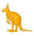 Kangaroo icon cartoon style vector image