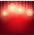 light garland for wedding vector image vector image