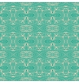 linear emerald green website background vector image vector image