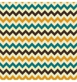 Zigzag retro seamless pattern vector image vector image