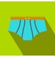 Men swimming trunks flat icon vector image