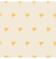 patterns and texture of wheat ears vector image