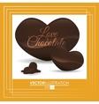 Chocolate icon design vector image