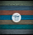 color painted wood texture background vector image vector image