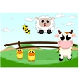 cute farm animal vector image vector image