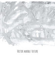 white gray black marble watercolor texture vector image vector image