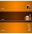 Beer outline for Design 1 vector image vector image