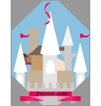 Castel vector image