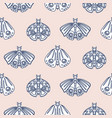 cute butterfly pastel seamless pattern vector image