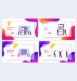 Internet smart technologies website landing page