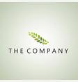 leaf logo ideas design on background