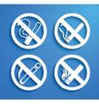 No Smoking symbol vector image vector image