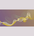 smooth filament curves motion creative background vector image