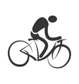 Trainning sport isolated flat icon vector image
